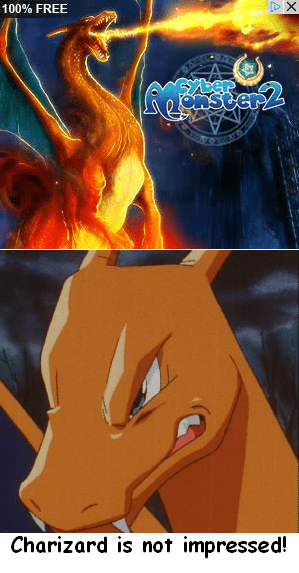 cyber monsters charizard - 7835058688