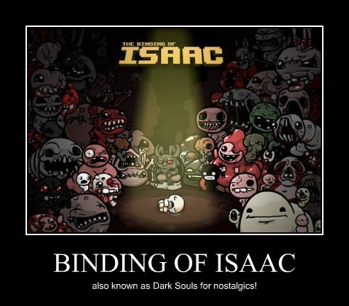 the binding of isaac,video games,hard games