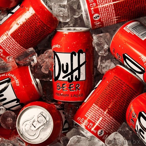 booze for sale duff beer the simpsons - 7835126784