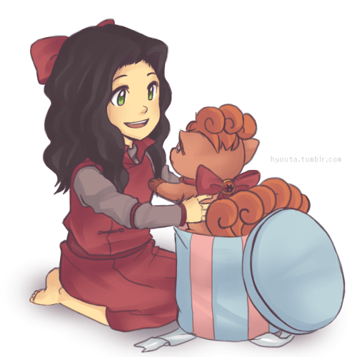 Pokémon Fan Art cartoons Avatar asami sato - 7835244544