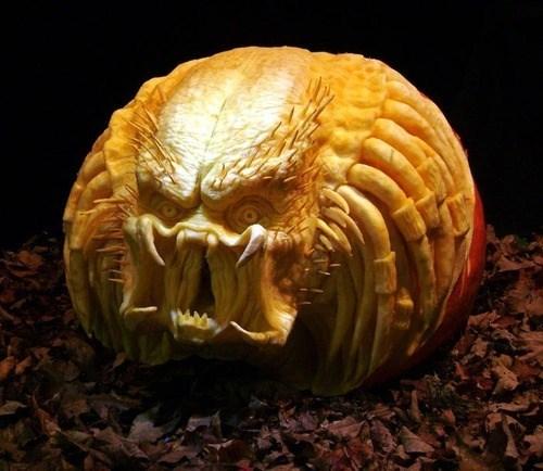 halloween ghoulish geeks jack o lanterns Predator