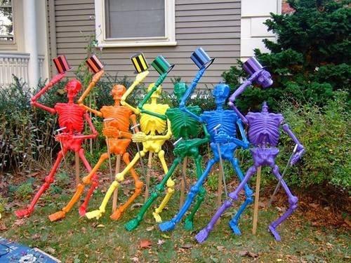 halloween skeletons - 7835407104