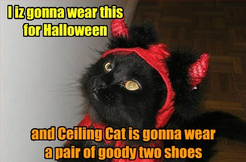 costume halloween devil Cats goody two shoes - 7835772160