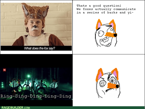 what does the fox say,ylvis