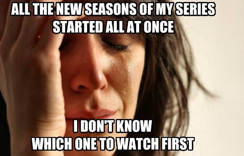Memes,TV,First World Problems