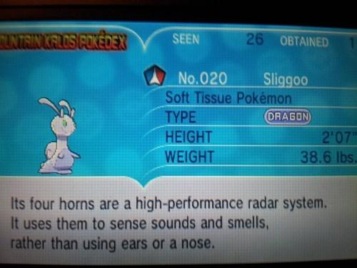 goomy spoilers sliggoo pokemon x/y - 7835922688