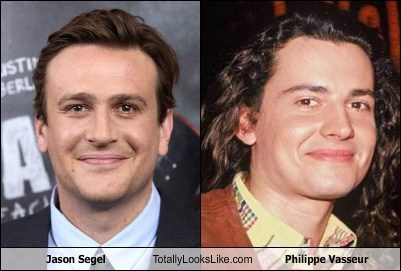philippe vasseur,totally looks like,funny,jason segel