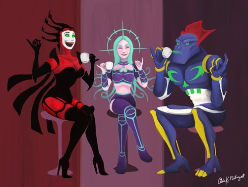 reboot,Fan Art,cartoons