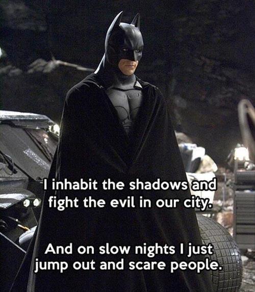 scumbag scare batman - 7836288768
