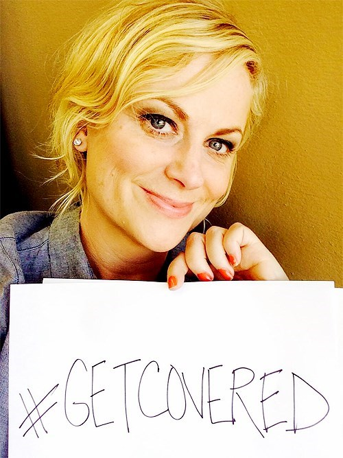 obamacare get covered Amy Poehler - 7836371456