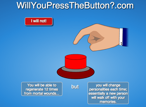 doctor who will you press the button - 7836371968