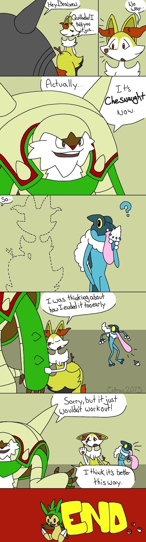 chesnaught quilladin comics - 7836478464