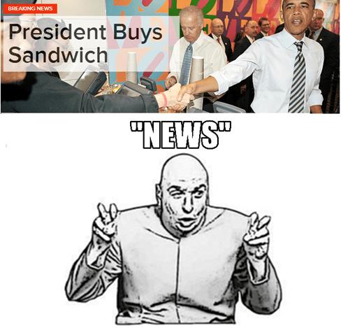 news,president,sandwich