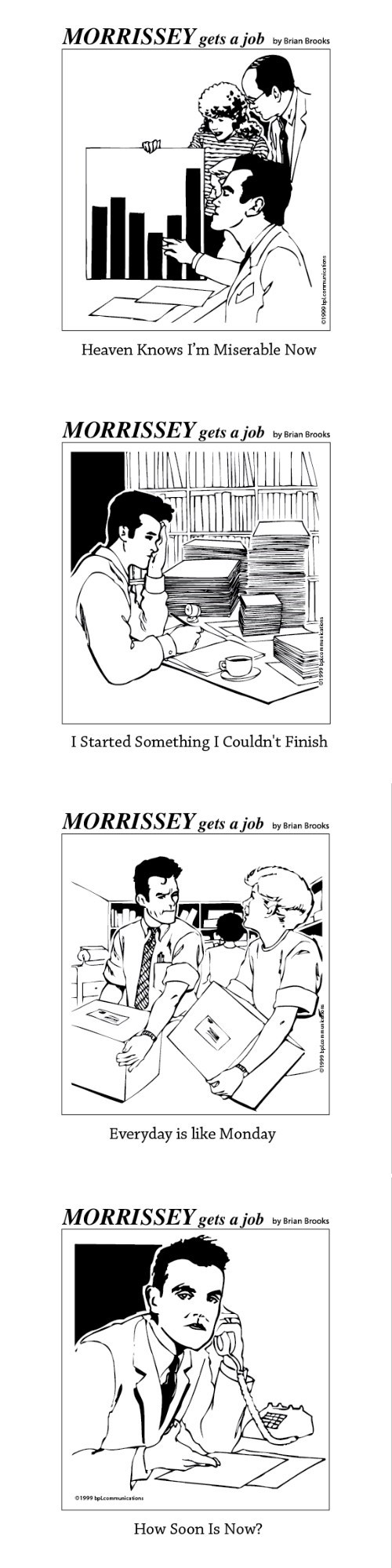 lyrics morrisey web comics existential monday thru friday Music g rated