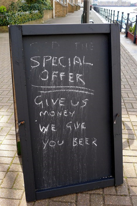 beer sign board funny pubs - 7836627712