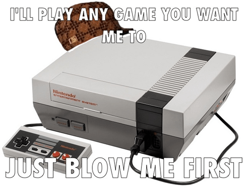 scumbag NES video games - 7836722432