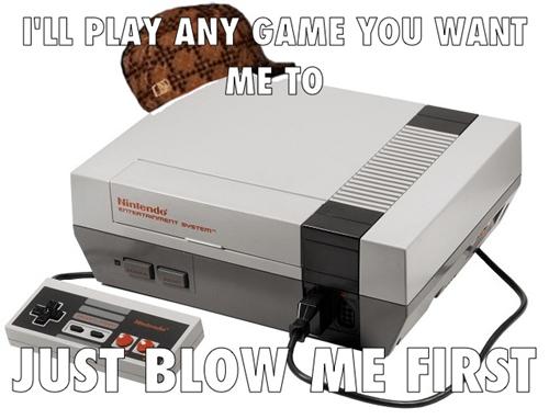 scumbag NES video games - 7836722432