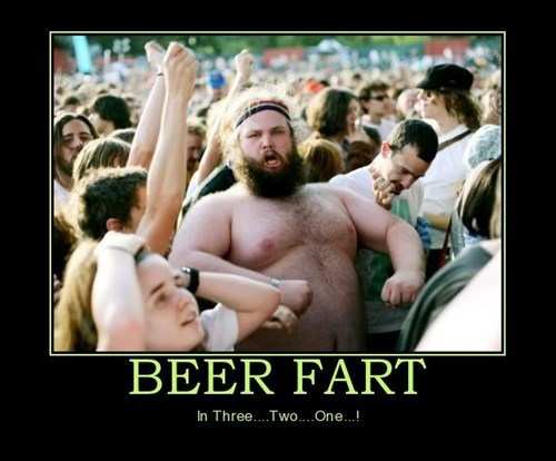 beer fat jokes funny fart - 7836724736