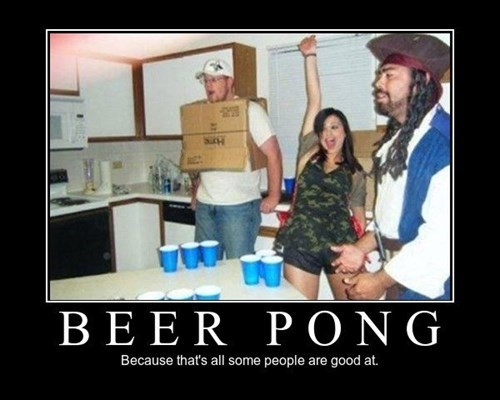 skill,beer pong,good,funny