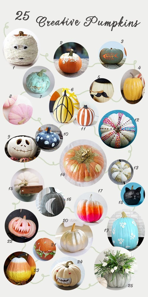 pumpkins Chart halloween decorations DIY