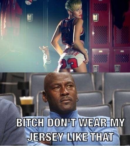 michael jordan miley cyrus jerseys poorly dressed - 7836800768