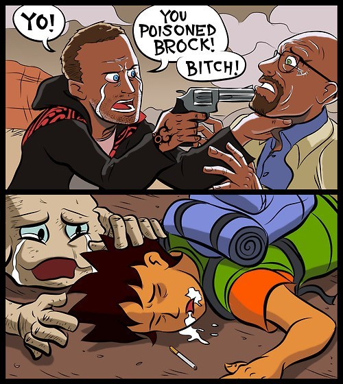 crossover,brock,Pokémon,breaking bad