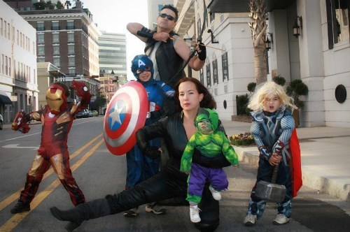 costume halloween avengers - 7836843776