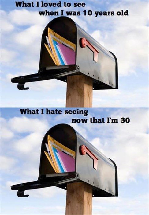 bills,mail