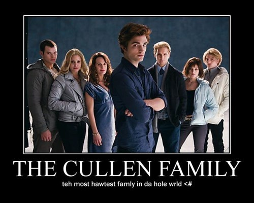 edward cullen twilight family idiots funny - 7836989696