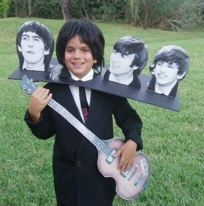 costume,beatles,kids,halloween,famously freaky,Music,g rated