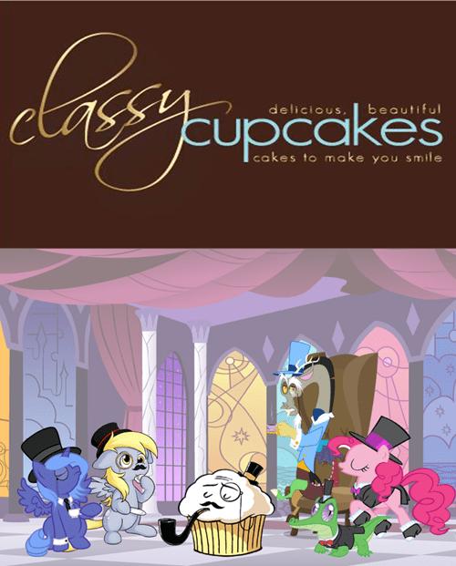discord pinkie pie classy cupcakes gummy - 7837956352