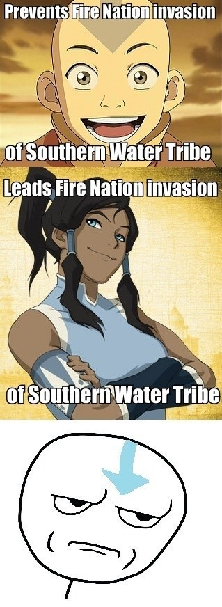 are you kidding me cartoons Avatar korra - 7838184704