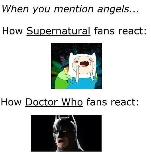 weeping angels,angels,Supernatural,doctor who