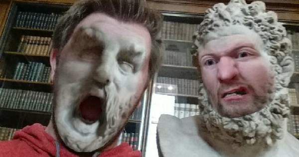 history face swap list statue
