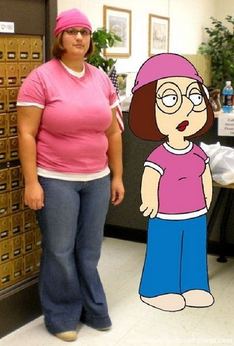 costume family guy meg ghoulish geeks g rated - 7838839808