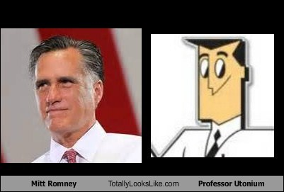 powderpuff girls,Mitt Romney,professor utonium,totally looks like,funny