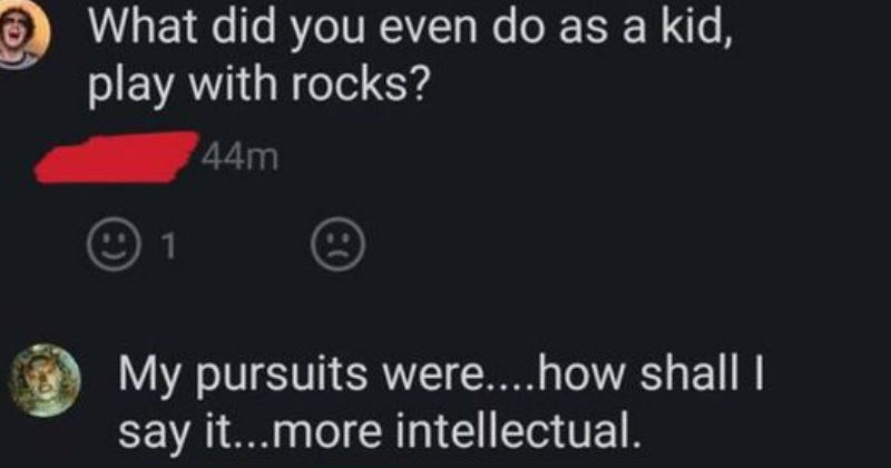 comments intelligence internet cringe smart bragging lol ego IQ brain cringeworthy funny intellectual - 7839237