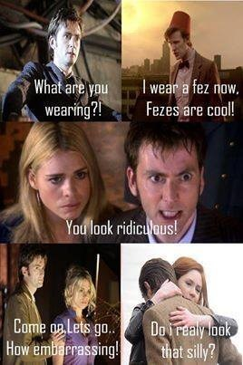 10th doctor 11th Doctor fezes - 7839370496