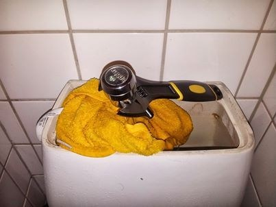 towel plumbing there I fixed it toilets wrench - 7839652864