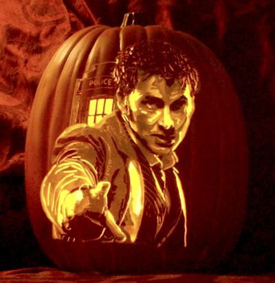 halloween ghoulish geeks jack o lanterns doctor who - 7839694336