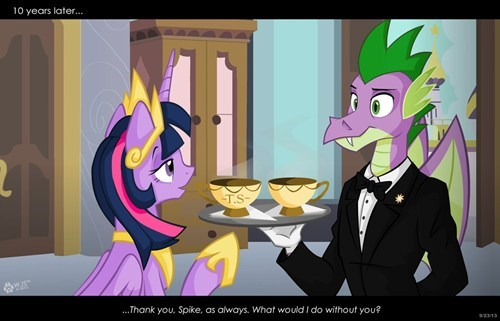 spike Fan Art twilight sparkle - 7839787776
