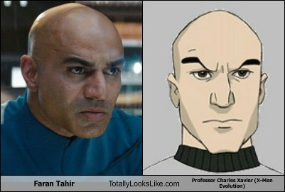 x men totally looks like faran tahir professor x funny - 7839866368