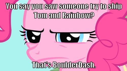 pinkie pie ship rainbow dash - 7840136704