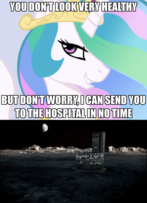 trollestia moon princess celestia - 7840211456