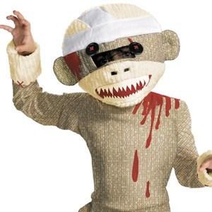 costume halloween g rated zombie sock monkey - 7840212480