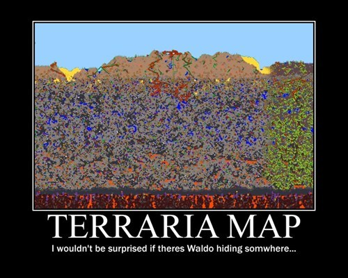 terraria wheres waldo - 7840296192