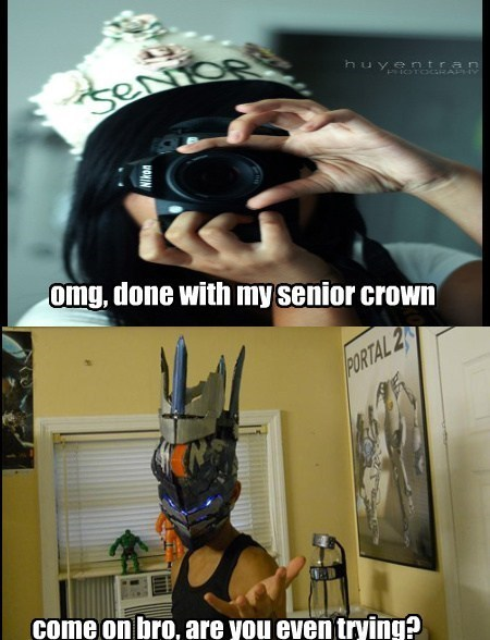 school fandom problems senior crowns - 7840415744