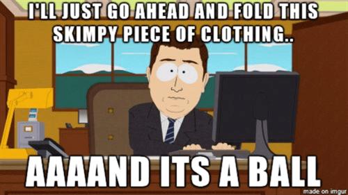 laundry South Park folding