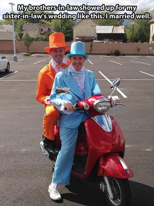 dumb-dumber fashion wedding - 7840418816