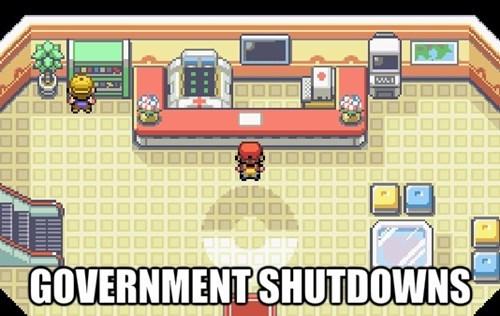government shutdown Pokémon - 7840532736